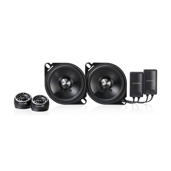 Alpine STE-G100S Type-E 4″ Component 2-Way Speaker