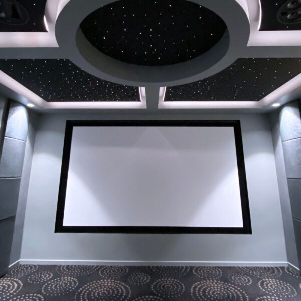 Four Suspended Starlight Ceiling Panels & Porthole