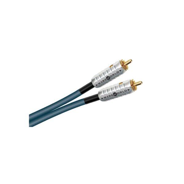 Wireworld Luna Pigtale Subwoofer RCA Interconnect Cables