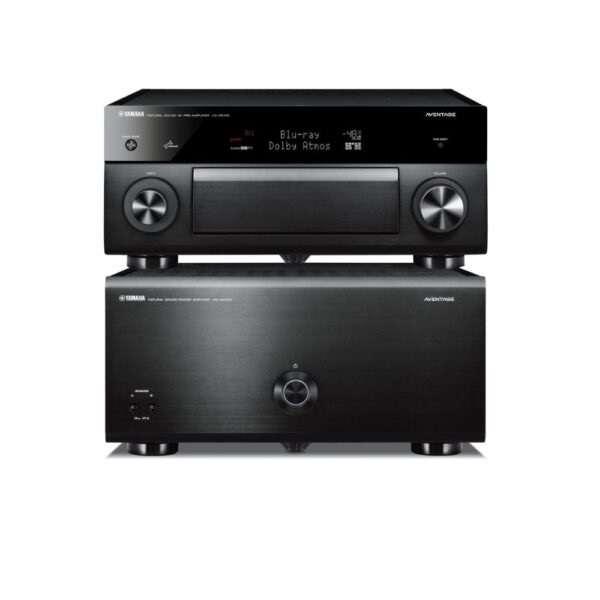 Yamaha Aventage CXA5200 11.2 A/V Processor & MXA5200 11 Channel Amplifier