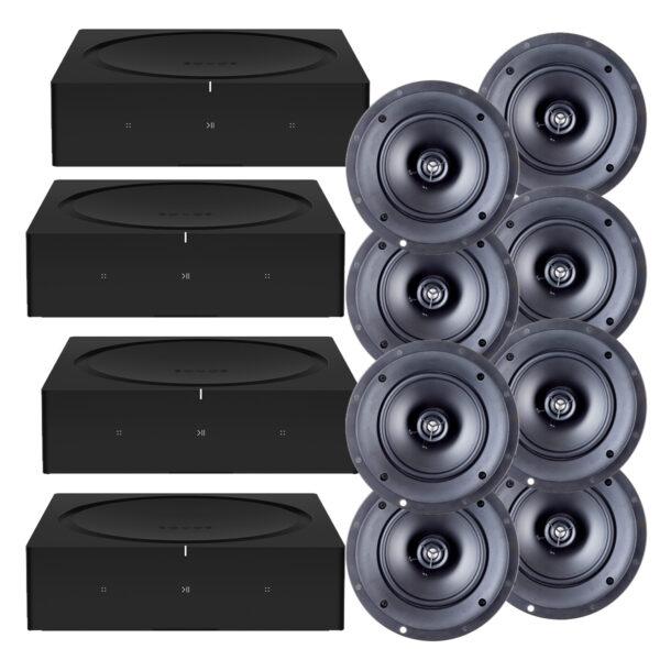 Sonos & Paradigm 4 Zone Music Package