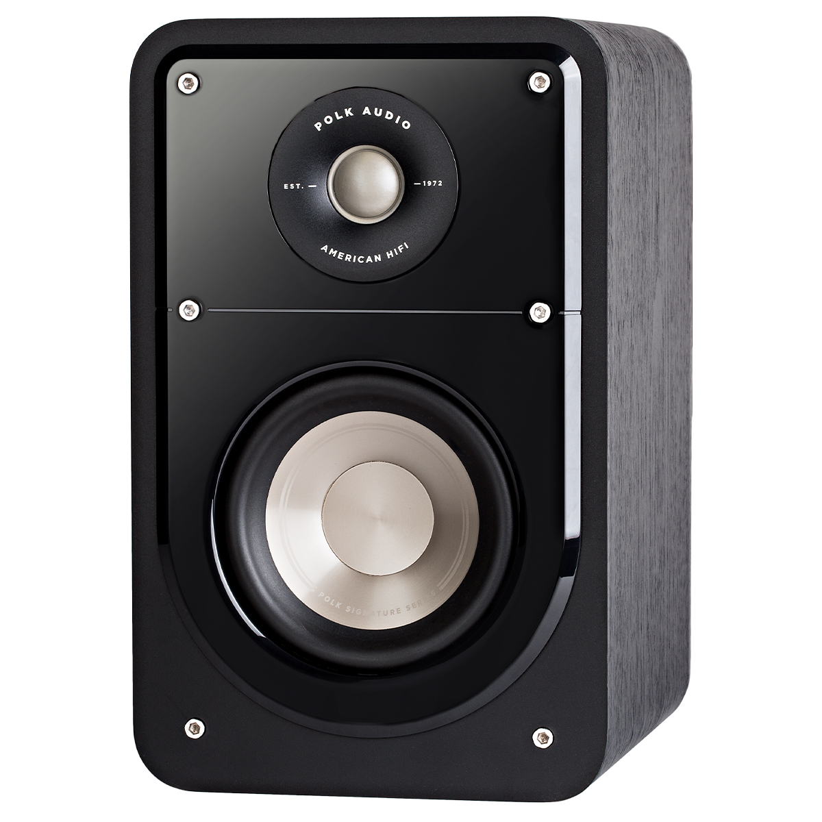 Polk Audio S15 Blk Front Life Style Store