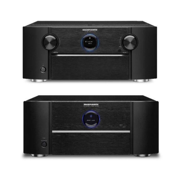 Marantz AV7706 A/V Pre-Amplifier & MM8077 7 Channel Power Amplifier