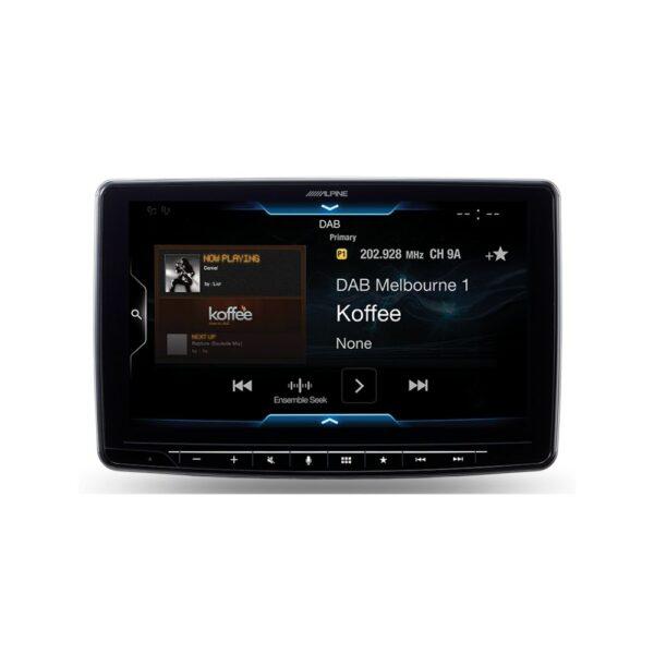"Alpine iLX-F309E Halo9 9"" Apple CarPlay|Android Auto|HDMI|USB|Bluetooth|FLAC|DAB+"