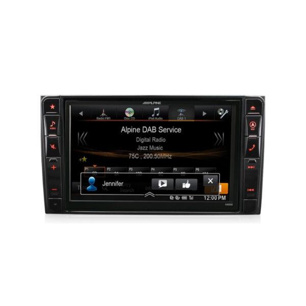 Alpine Mercedes Vito Viano 447 X800D-V447 8″ DVD|USB|HDMI|Bluetooth|Navigation