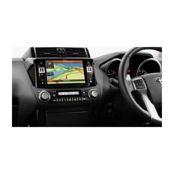 "Alpine Toyota Prado X800D 8"" DVD/USB/MP3/WMA/AAC/DIVX/HDMI/NAVI"