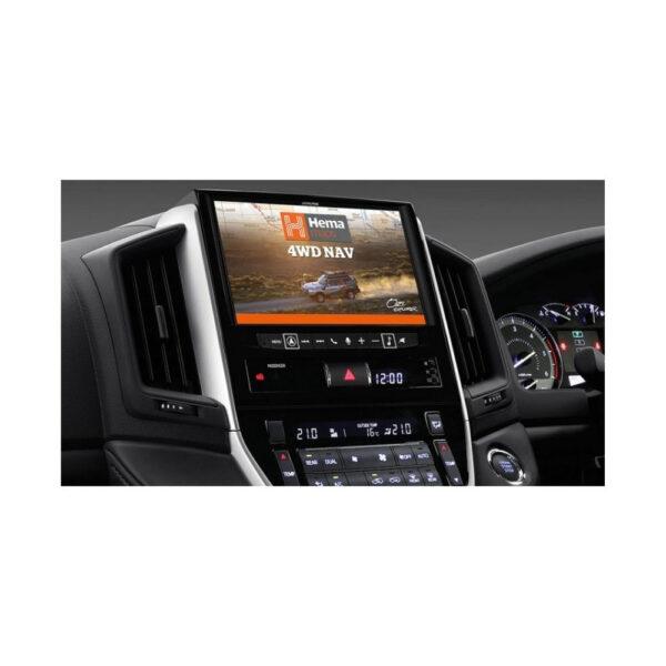 "Alpine Toyota Landcruiser 200 Series LC16-X902D 9"" Navigation System with Hema"