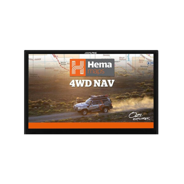 "Alpine X902D-F HEMA Navigation 9"" Apple CarPlay|Android Auto|Primo 3.0 Navi|HEMA 4WD Maps"