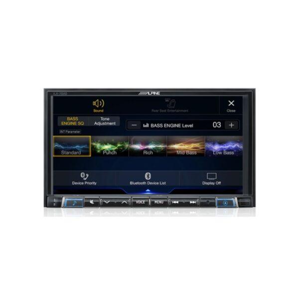 "Alpine iLX-702D 7"" Apple CarPlay / Android Auto / HDMI / USB / Bluetooth / FLAC / DAB+ Receiver"