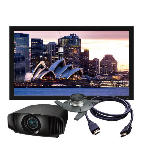 Sony VPL-VW290ES Projector + Screen Package