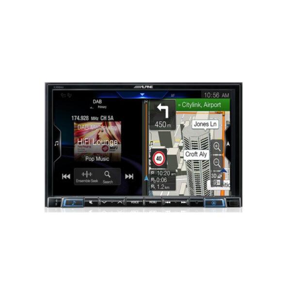 "Alpine X308AU 8"" Apple CarPlay|Android Auto|Primo 3.0 Navigation|HDMI|USB|Bluetooth|FLAC|DAB+ Receiver"