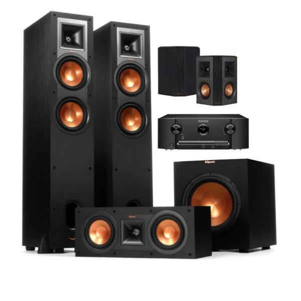 Marantz + Klipsch 5.1 Complete Speaker System Package