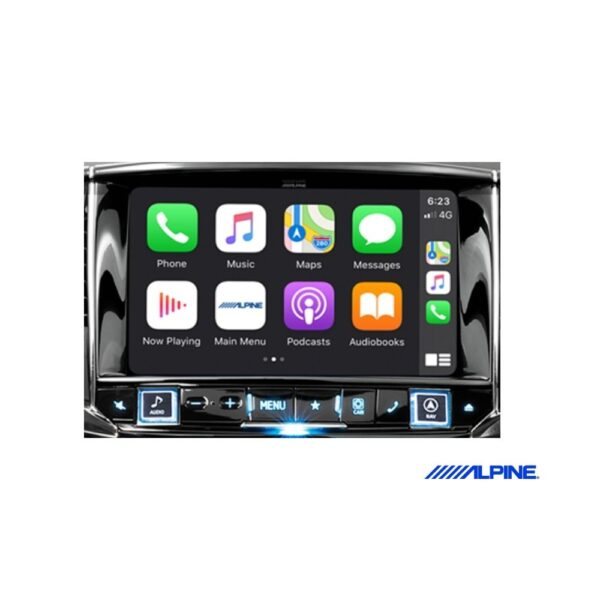 "Alpine Holden VF Commodore i902D 9"" APPLE CARPLAY ANDROID AUTO DAB+ RDS HDMI FLAC MP3 WMA AAC USB BLUETOOTH"