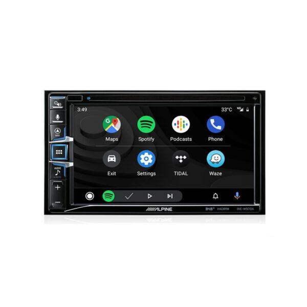 "Alpine INE-W970A 6.5"" Apple CarPlay |Android Auto|Navigation|CD/DVD Receiver|HDMI|Dual USB|Bluetooth|FLAC|DAB+ Receiver"