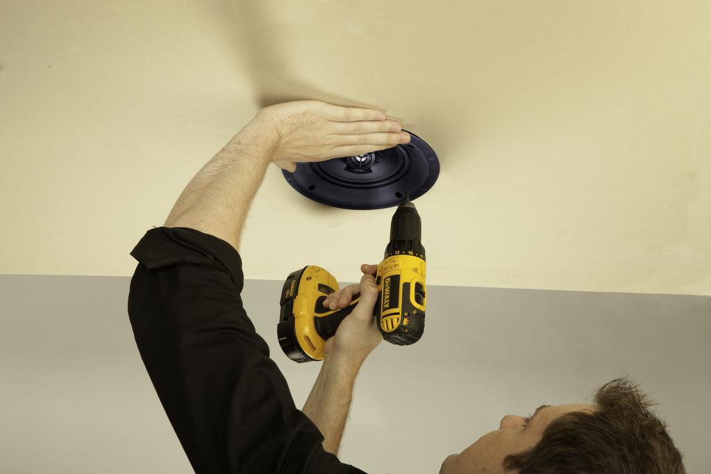Paradigm In-Ceiling Speaker Installation