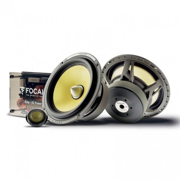 Focal ES165K2 K2 Power Series 6-3/4″ component speaker system