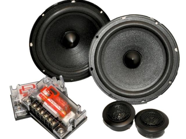 DD Audio DC5x7 D CLASS 5X7 Component Set