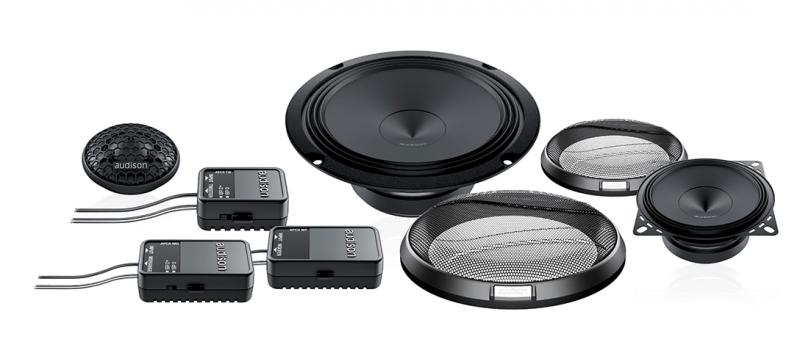 Audison APK163 – 16.5cm 6.5″ Prima 3-Way Component Speakers