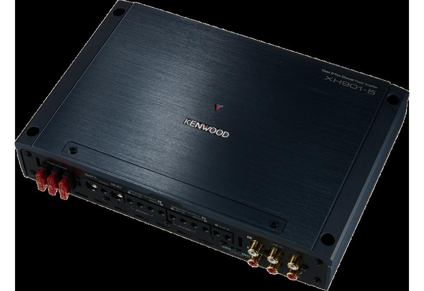 Kenwood XH901-5 5 Channel Class D Hi Res Audio Amplifier 600W x 4