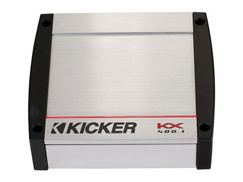 KICKER KX400.1 MONO CLASS D, ELEC, 24dB X/OVER [LOW PASS]
