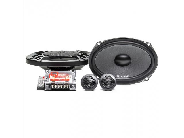DD Audio DC6x9 D Class 6X9 Component Speaker Set