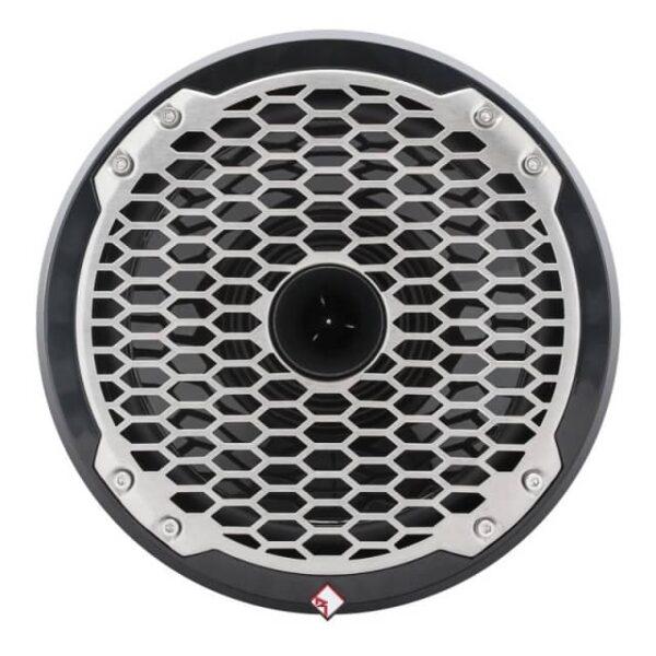 Rockford Fosgate PM282H-B Punch Marine 8″ Full Range Speaker w/ Horn Tweeter – Black
