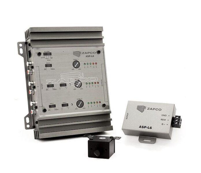 Zapco ASP-L6 6-Channel Signal Line Driver/Distribution