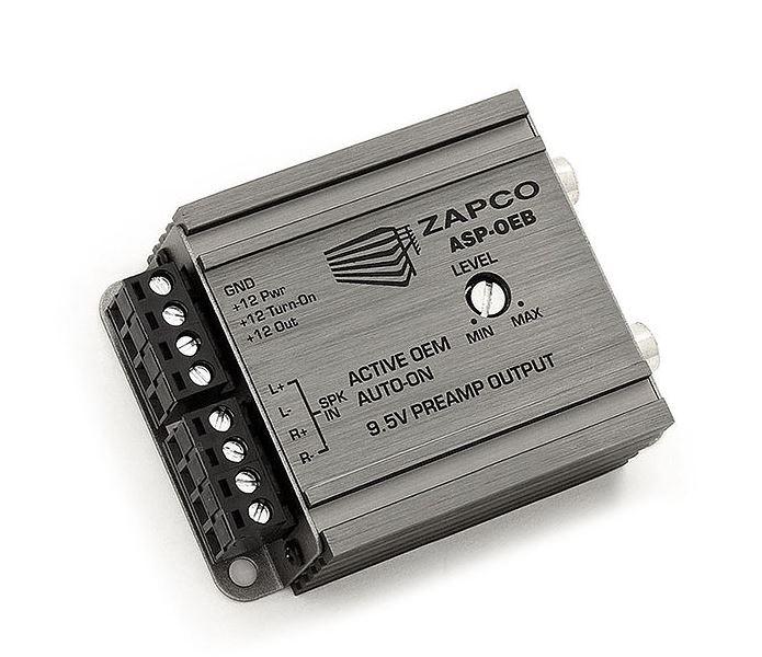 Zapco ASP-OEB 2-Channel OEM Speaker Level to Preamp