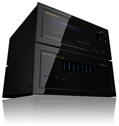 Audio Control Maestro M9 A/V Processor & Savoy 7 Channel Amplifier