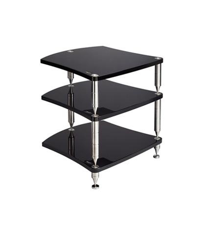 Bassocontinuo Reference Line Accordeon 3 Shelf Hi-Fi Equipment Rack