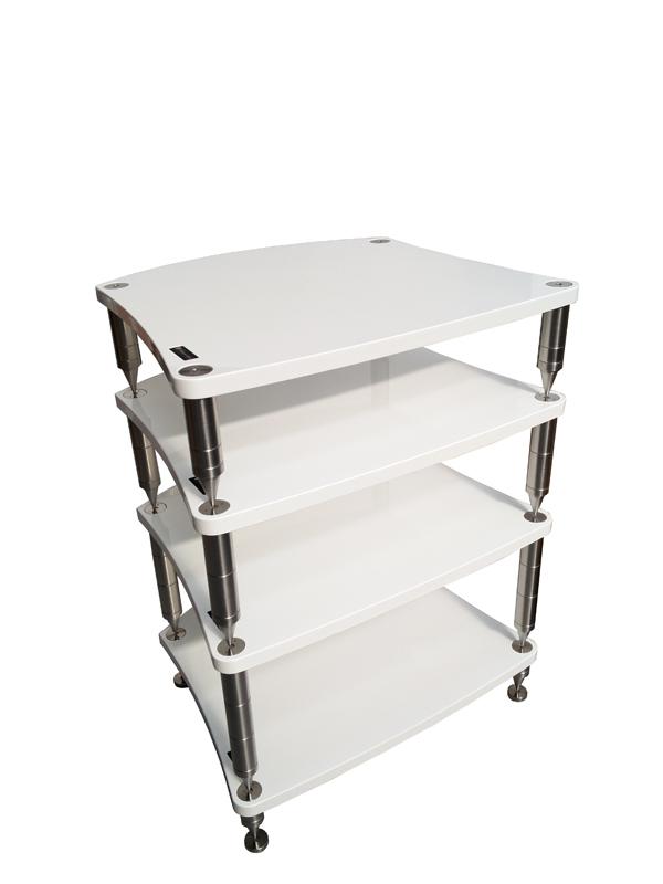 Bassocontinuo Reference Line Accordeon XL 4 AV Equipment Rack - 4 Shelves
