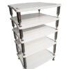 Bassocontinuo Reference Line Accordeon XL 4 AV Equipment Rack - 5 Shelves