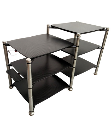 Bassocontinuo Revolution Line Argo 2.0 3 Shelf A/V Equipment Rack