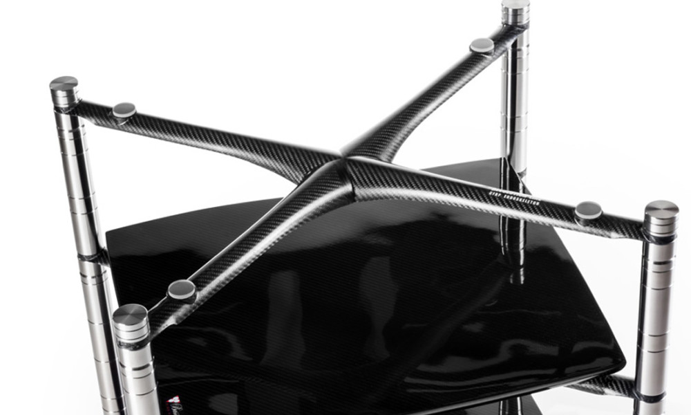 Bassocontinuo Revolution Line  - CFRP endoskeleton mono shell/body made from carbon fiber