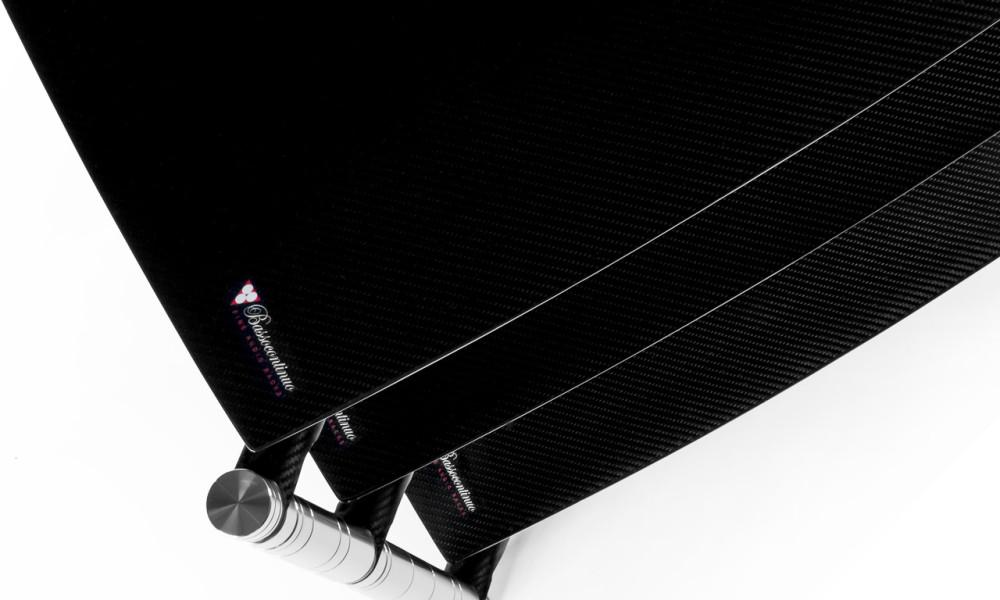 Bassocontinuo Revolution Line - Floating shelves on CFRP endoskeleton.