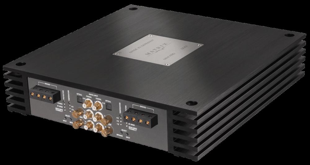 Brax MX4 PRO 4 Channel Amplifier