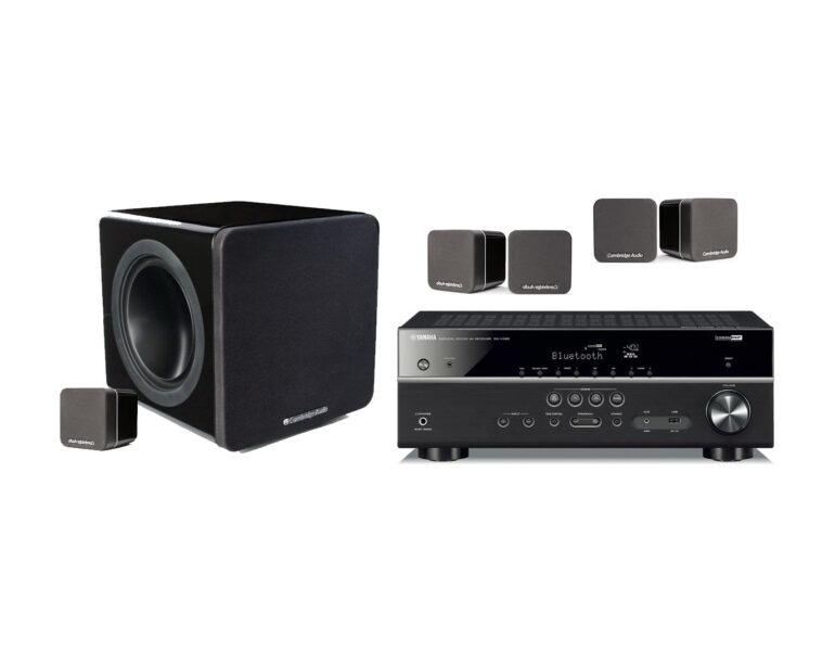 Yamaha + Cambridge Audio 5.1 Home Theatre Package