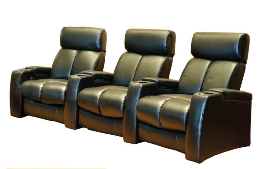 Emotion Furniture Pegar 12017 Cinema Seats – Leather Finish (Electric Recline) – Ex Display