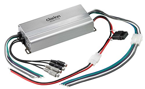Clarion XC2410 Micro Size 4/3/2 Channel Class D 4 Channel Amplifier