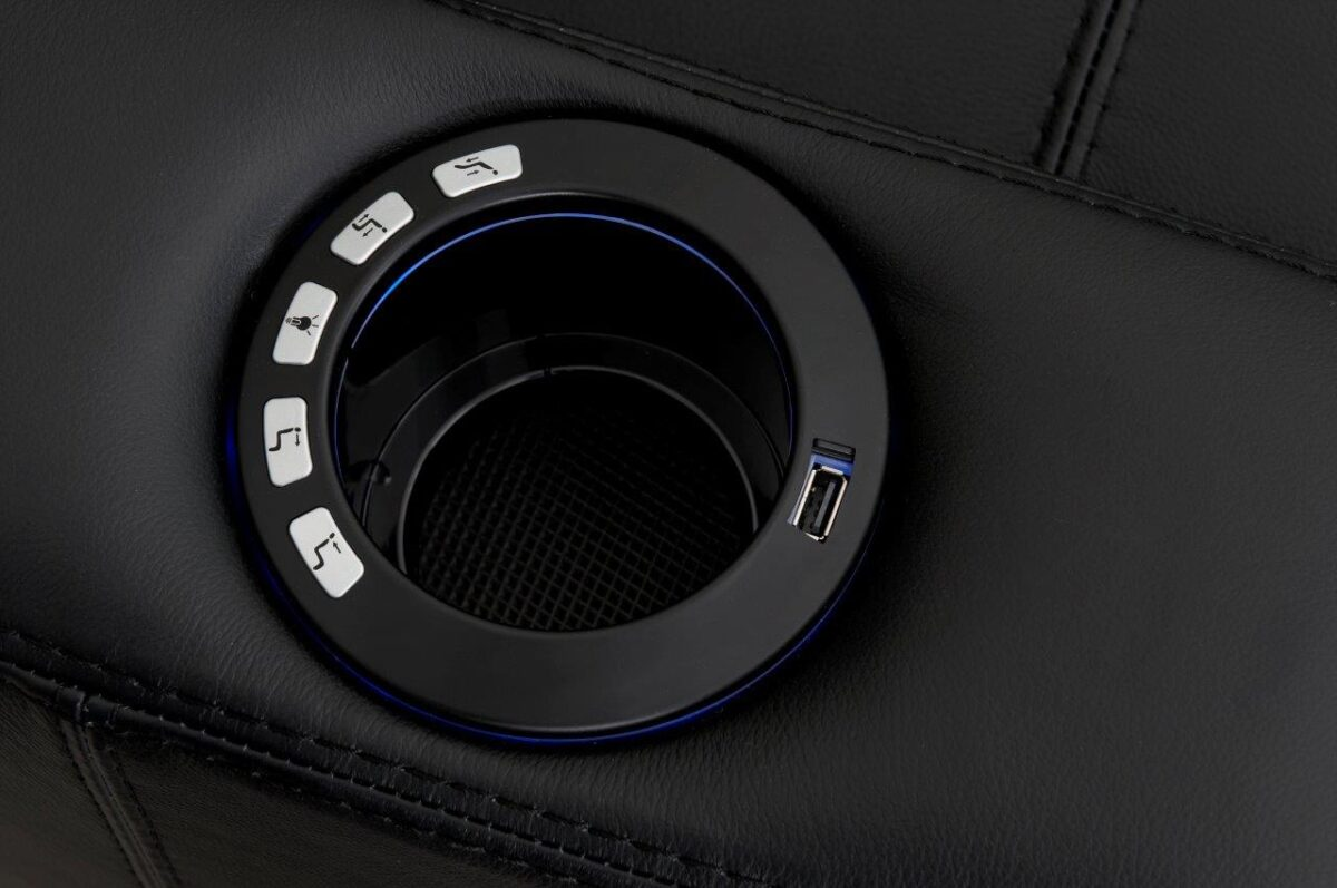Cupholder with Integrated USB