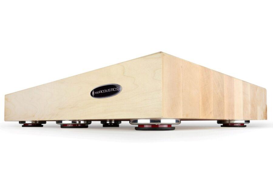 IsoAcoustics Delos Wooden Isolation Platform