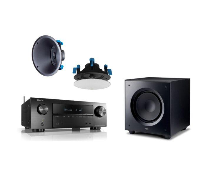 Denon + Paradigm Home Series Custom Speaker Package