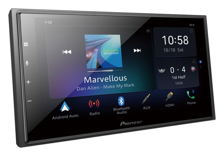Pioneer DMH-Z6350BT 6.8″ Capacitive Touch-Screen|Apple CarPlay|Android Auto|Alexa