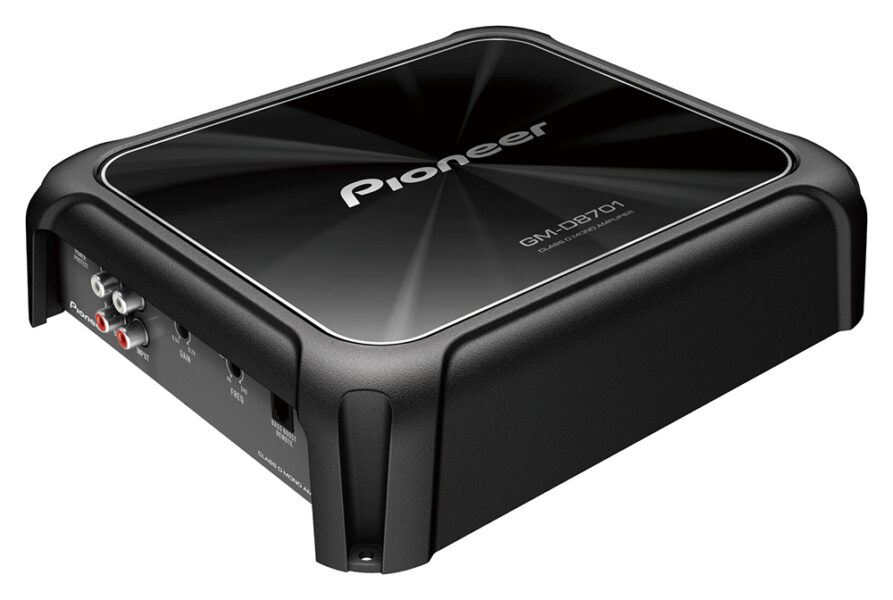 PIONEER GM-D8701 Mono 1600W Class-D Car Amplifier with Bass Boost Remote