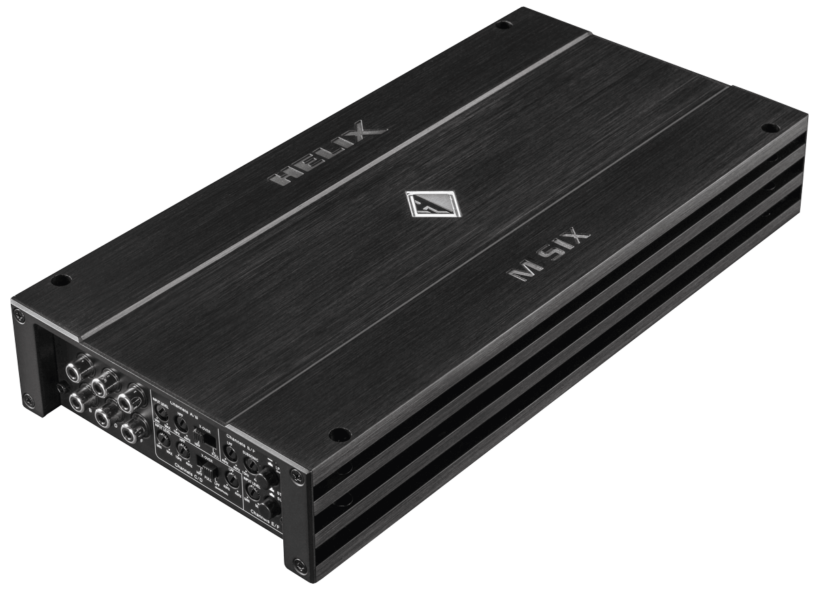 Helix M Six 6 Channel Amplifier with Integrated Active Crossover
