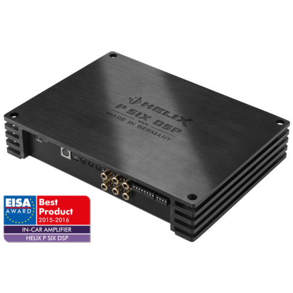 HELIX P SIX DSP MK2 6-channel amplifier with integrated digital 8-channel signal processor