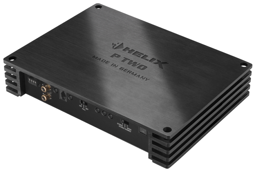 Helix P Two 2 Channel High Resolution Class D Amplifier with Built in Crossovers