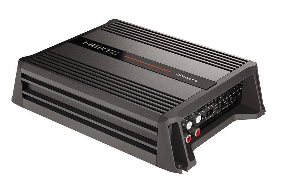 Hertz DPower 4 D Class Four Channel Amplifier