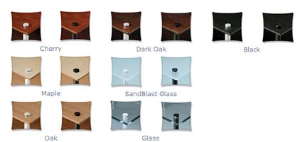 Quadraspire Q4 EVO Hi-Fi Equipment Rack Colours