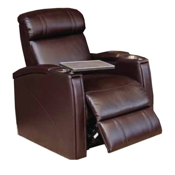 Emotion Furniture Fusion Cinema Seats - Leather Finish (Electric Recline)